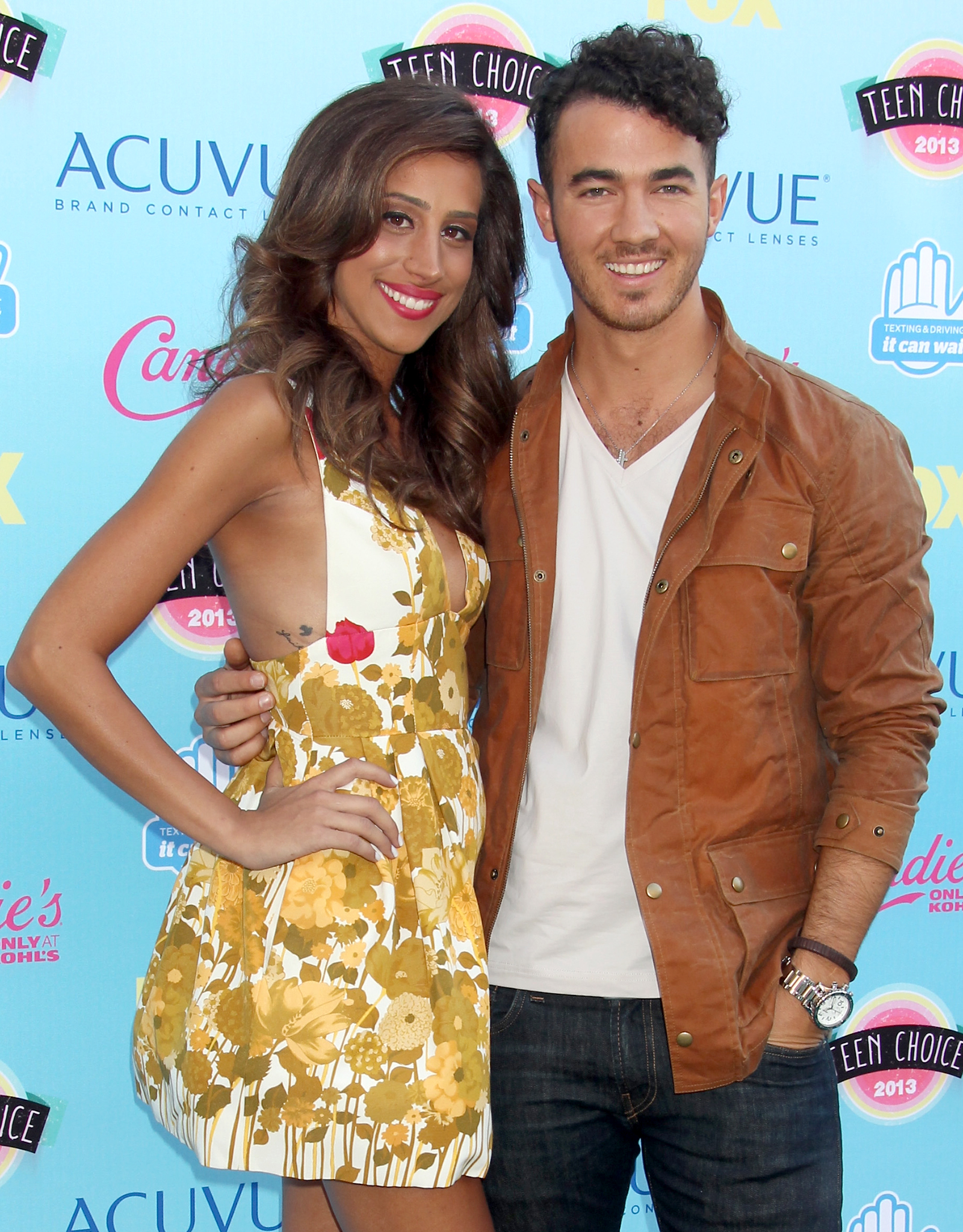 Danielle and Kevin Jonas (FOX/Getty Images)