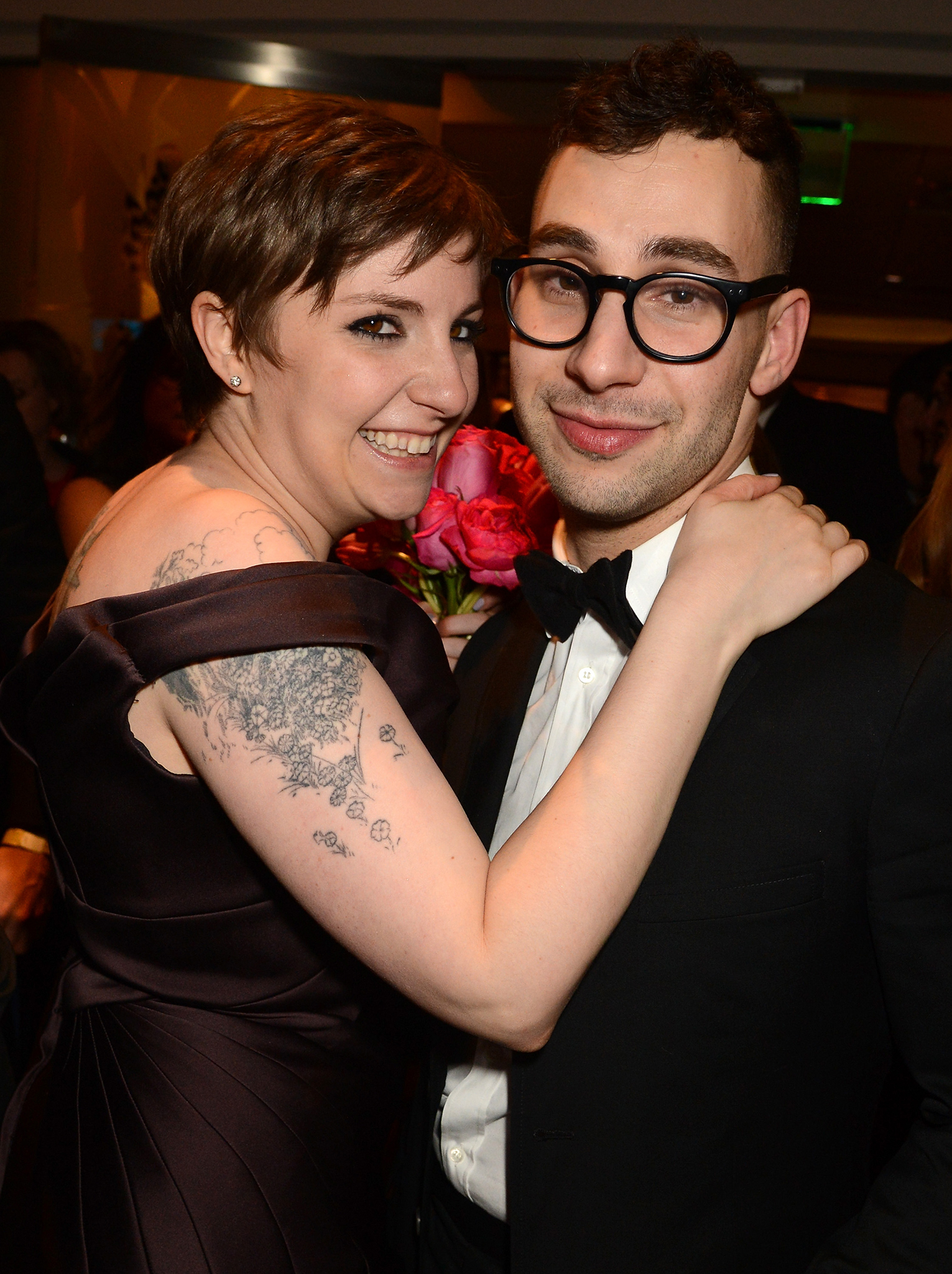 Lena Dunham and Jack Antonoff (Filmmagic)