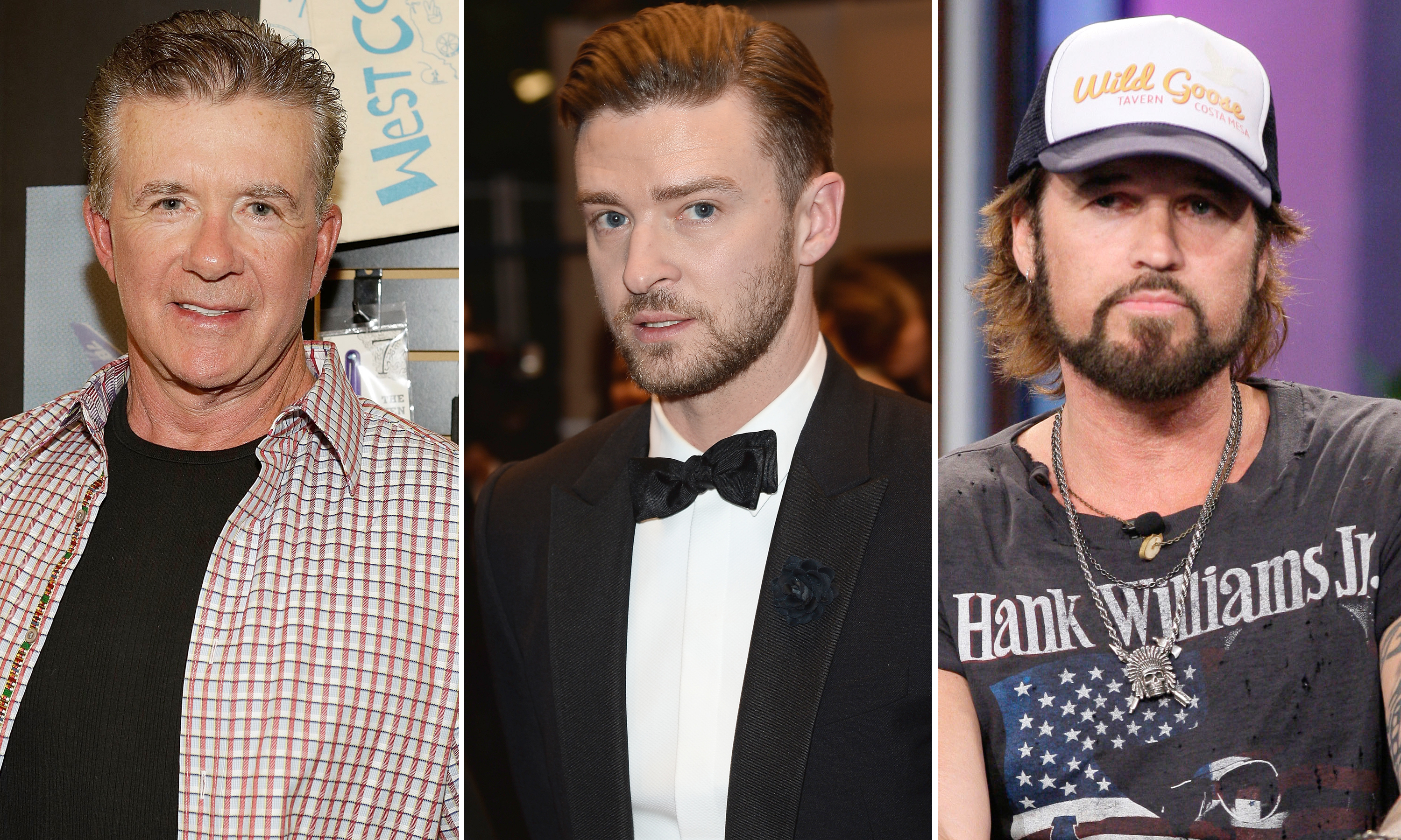 Robin Thicke, Justin Timberlake, Billy Ray Cyrus (WireImage/WireImage/Getty Images)