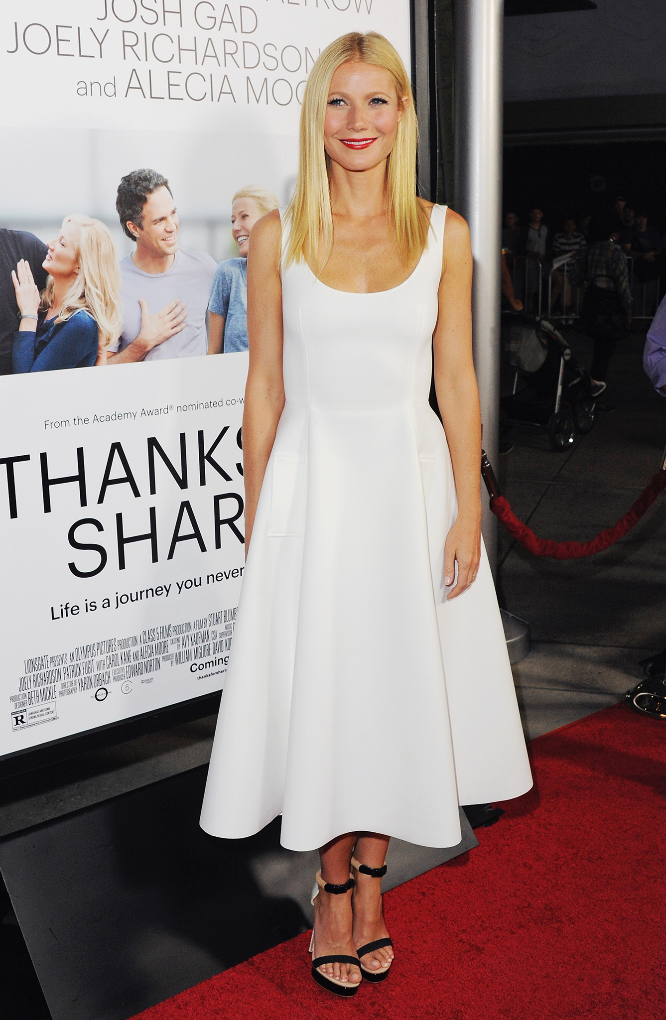 Gwyneth Paltrow at 'Thanks for Sharing' premiere in Hollywood (FilmMagic)