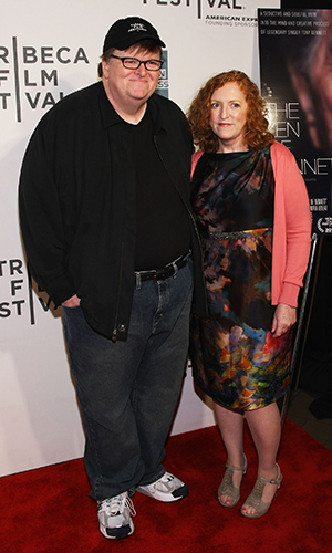 Michael Moore and Kathleen Glynn (Getty Images)