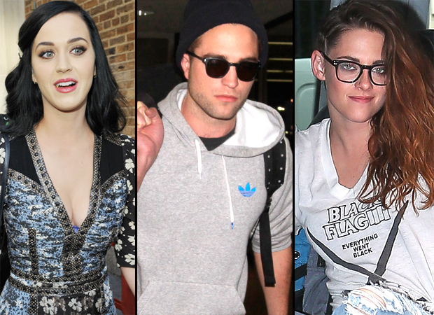 Katy Perry, Robert Pattinson, and Kristen Stewart (Splash News)