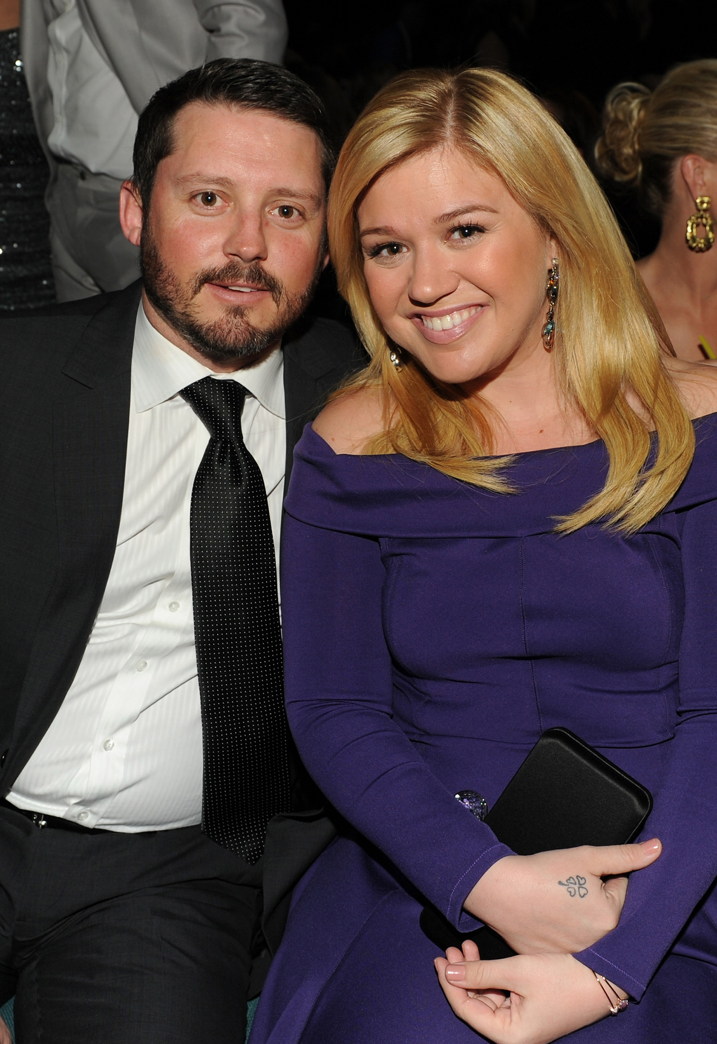 Brandon Blackstock and Kelly Clarkson (WireImage)
