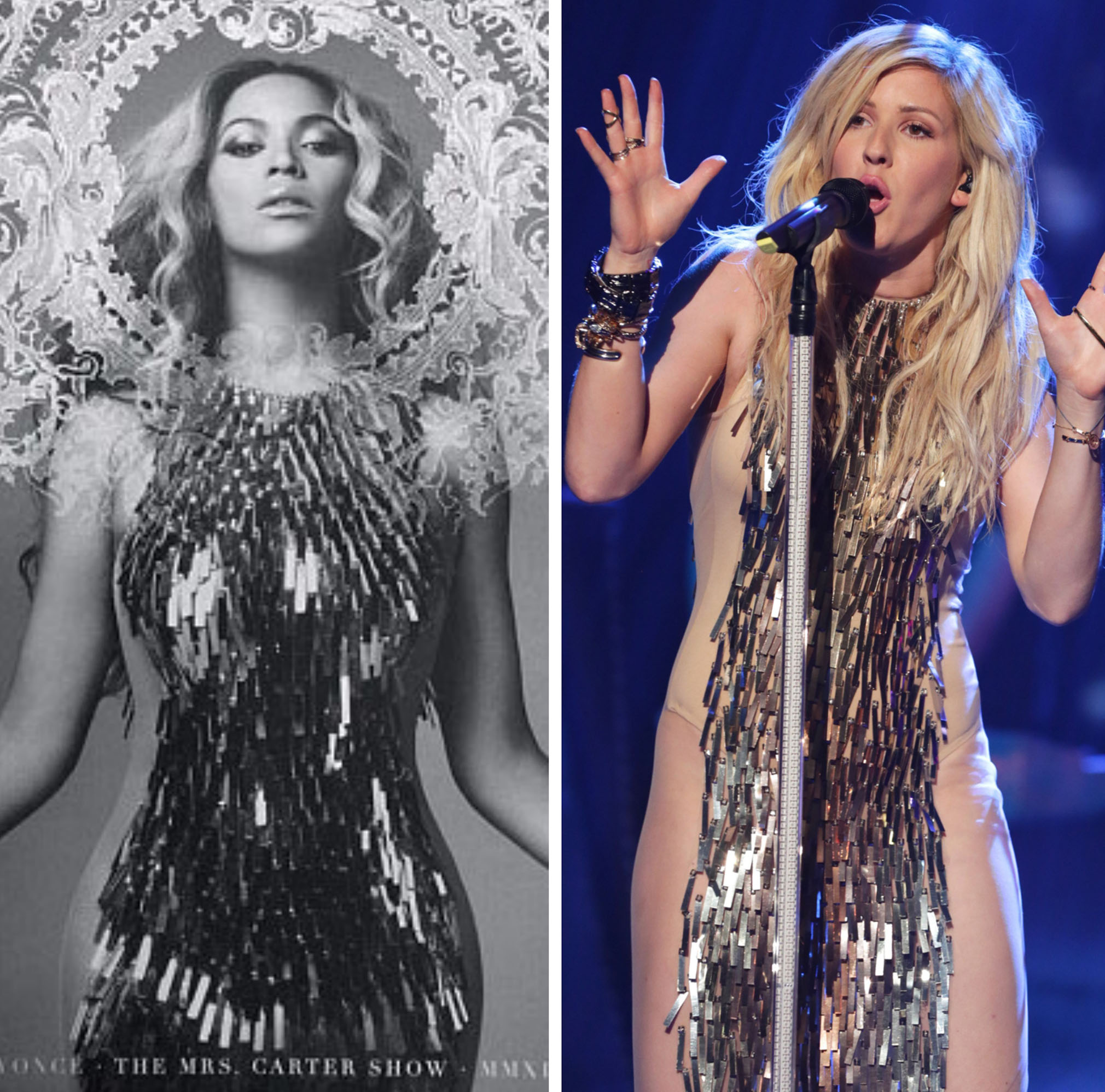 Beyoncé, Ellie Goulding (The Mrs. Carter Show/REX)