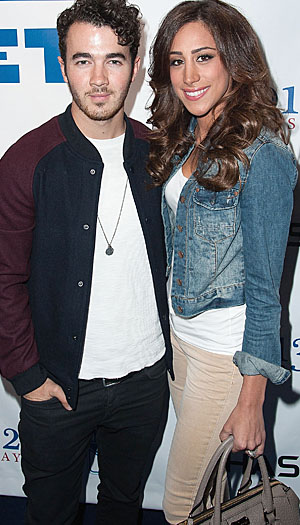 Kevin and Danielle (WireImage)