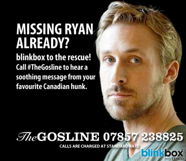 Ad for The Gosline (Blinkbox)