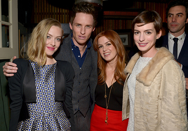 Amanda Seyfried, Eddie Redmayne, Isla Fisher, and Anne Hathaway (Getty Images)