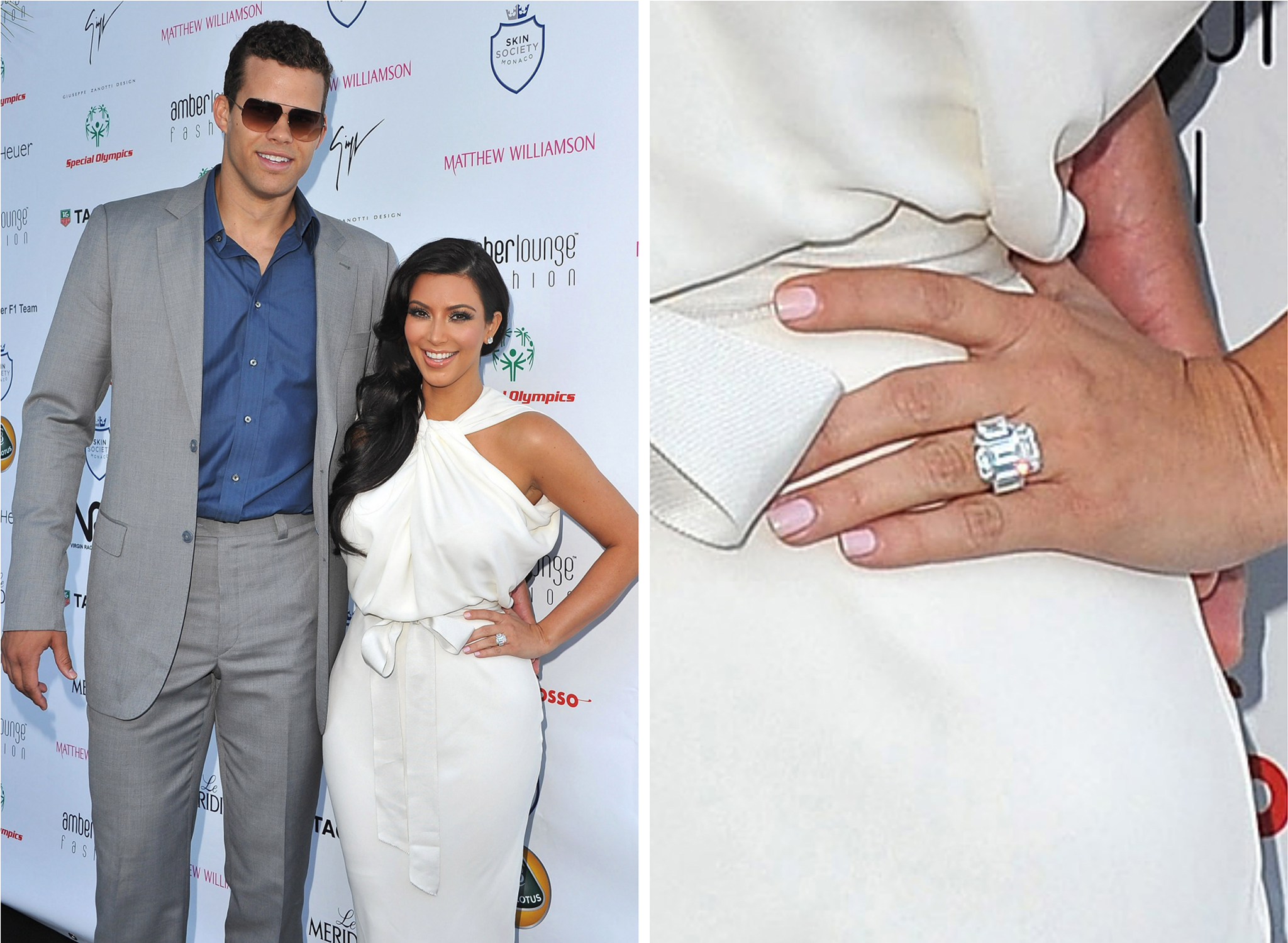 Kris Humphries and Kim Kardashian (Getty Images)