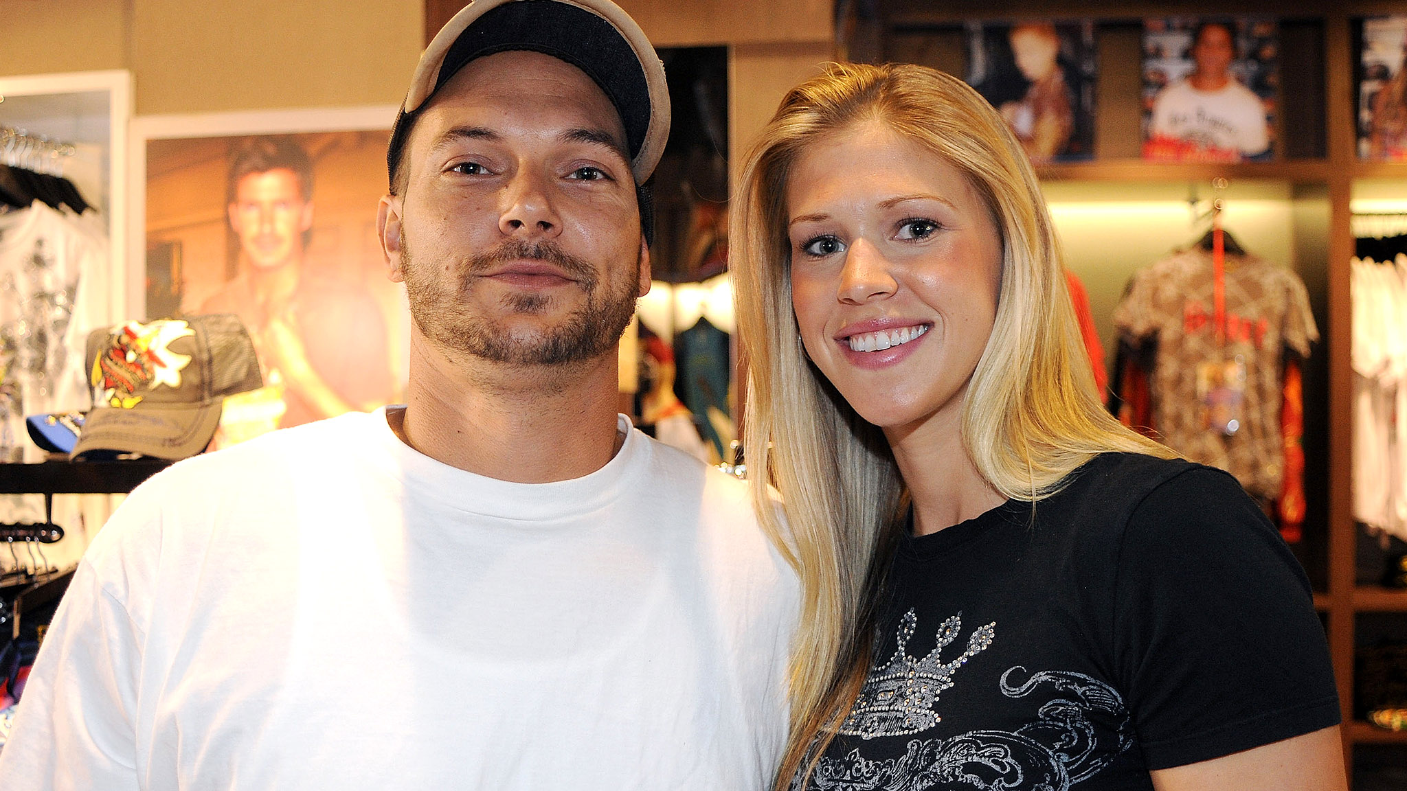 Kevin Federline and Victoria Prince. (Getty Images)