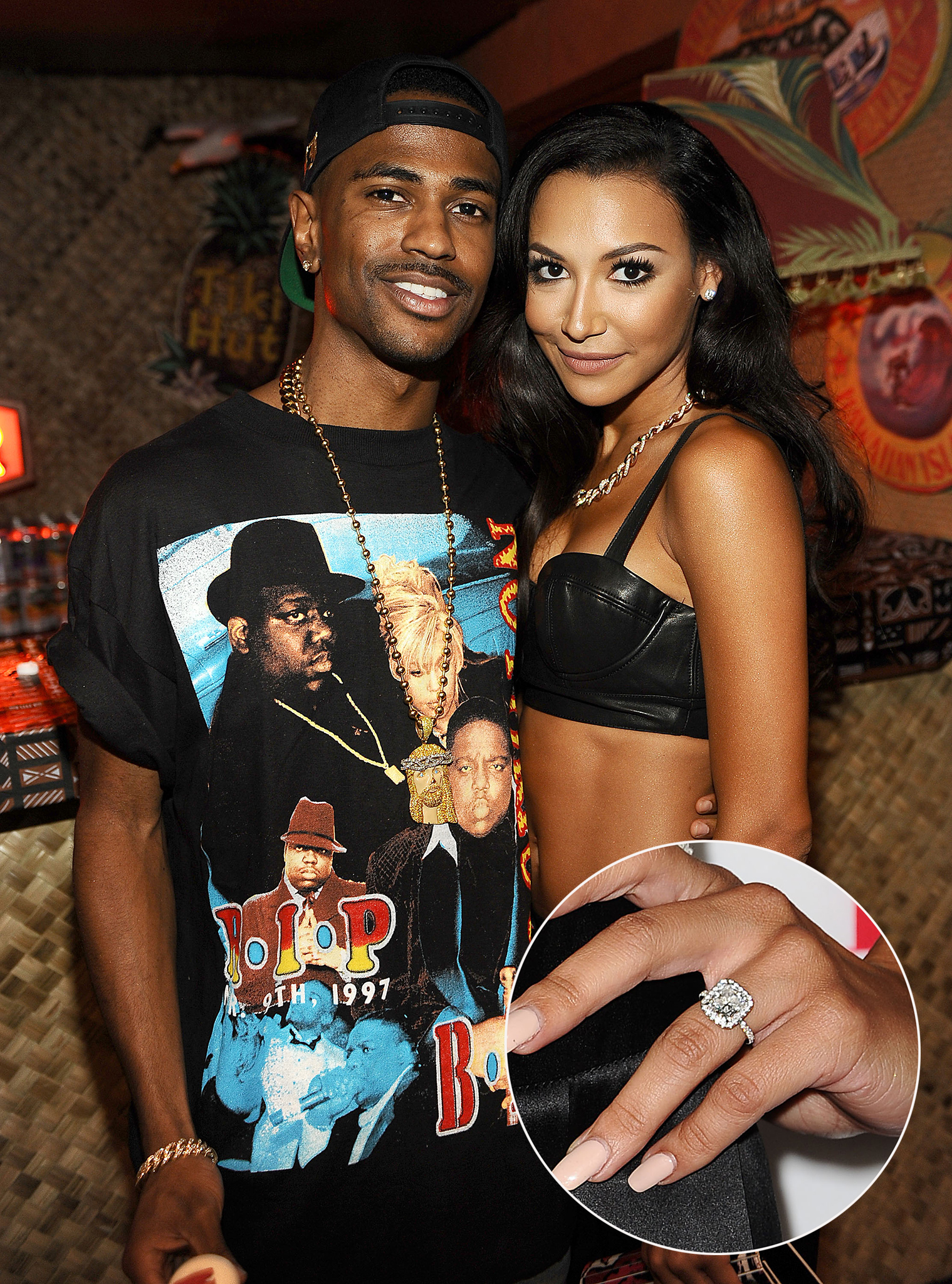 Naya Rivera and Big Sean are engaged. (Getty Images)