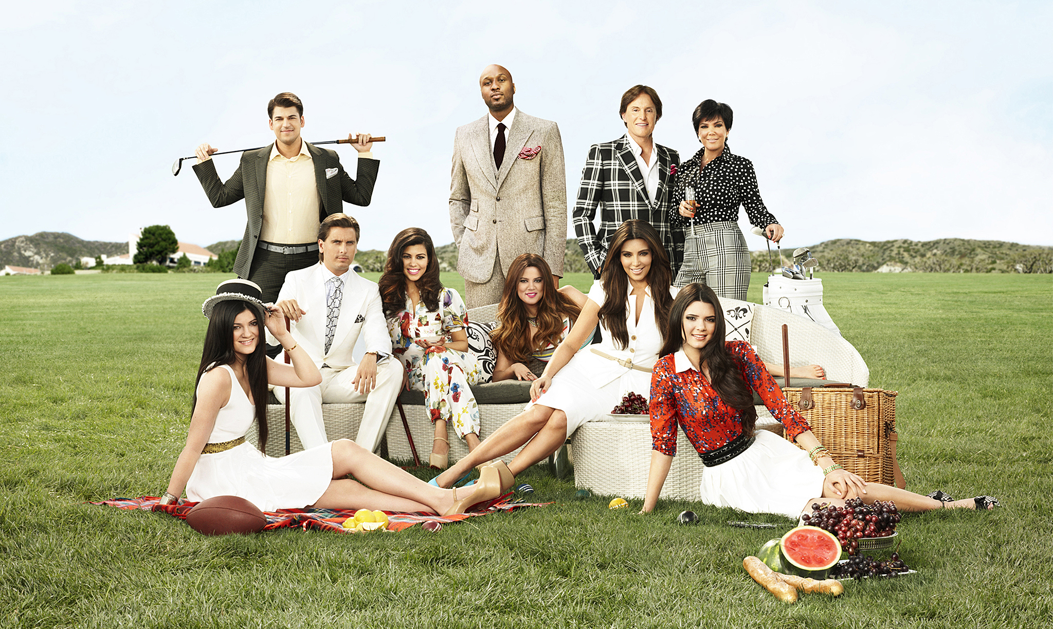 'Keeping Up With the Kardashians' Promo Image (E! Entertainment)