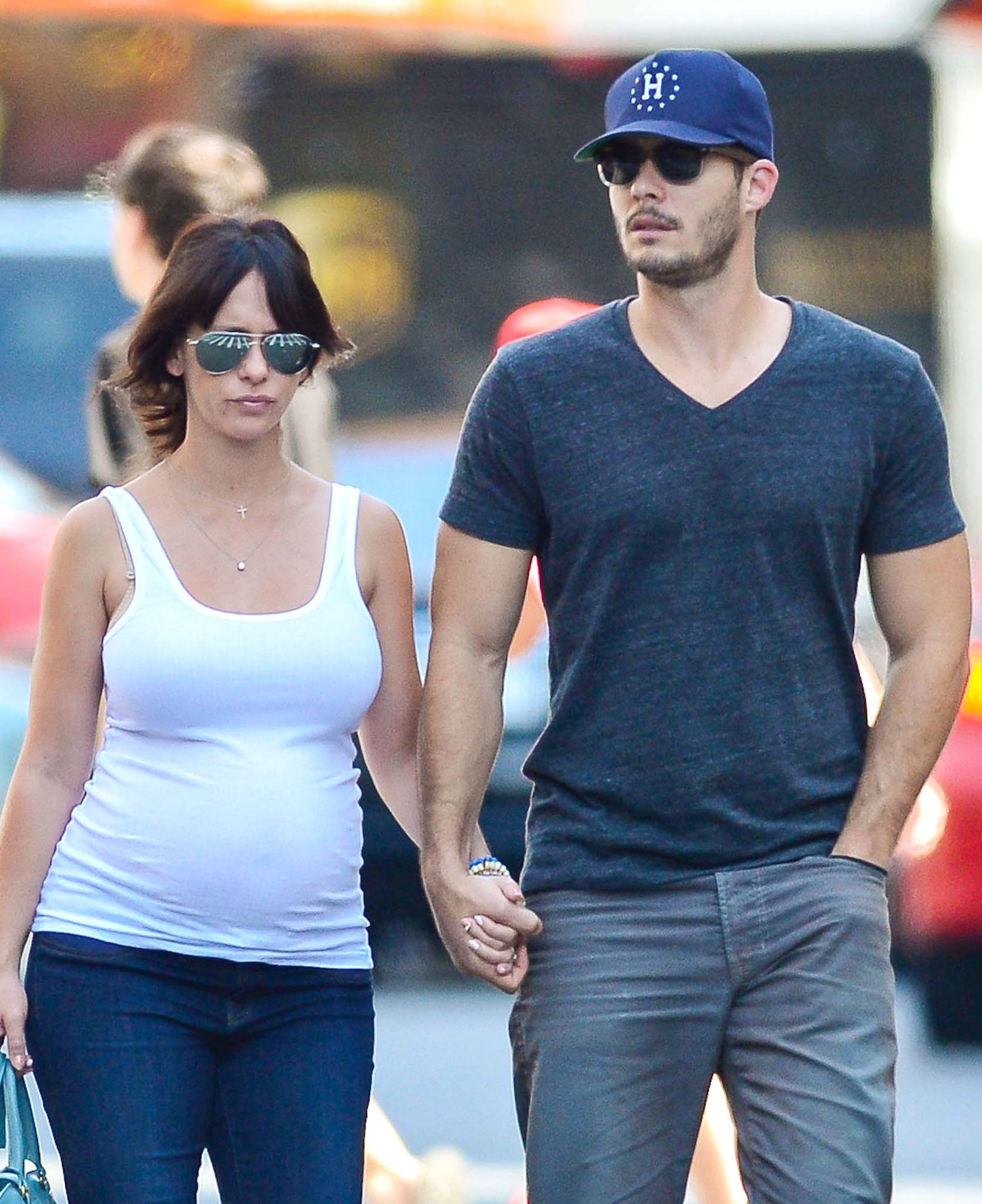 Jennifer Love Hewitt and Brian Hallisay (FameFlynet)