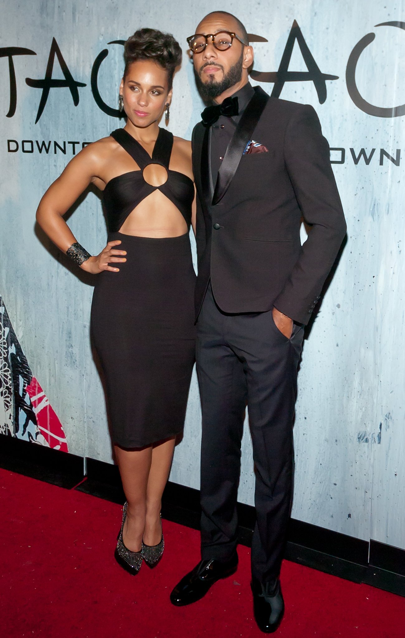 Alicia Keys and Swizz Beatz (Getty Images)