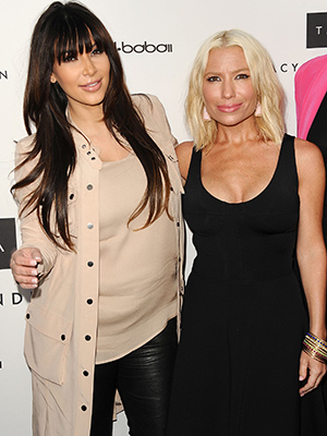 Kim Kardashian and Tracy Anderson (Getty Images)