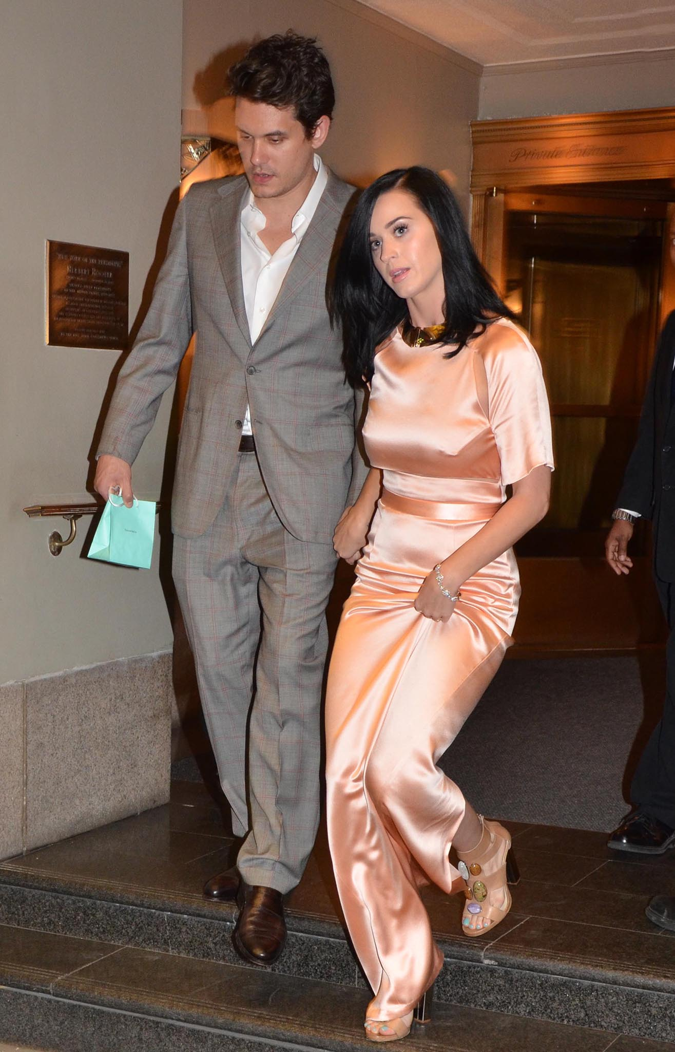 John Mayer and Katy Perry (Landov)