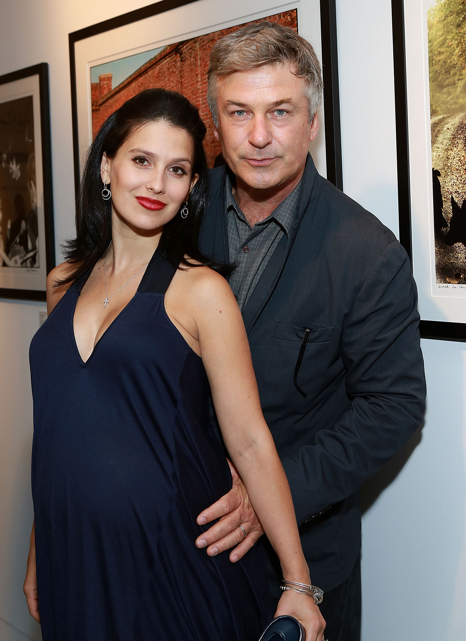 Hilaria Thomas and Alec Baldwin (Robin Marchant/Getty Images)