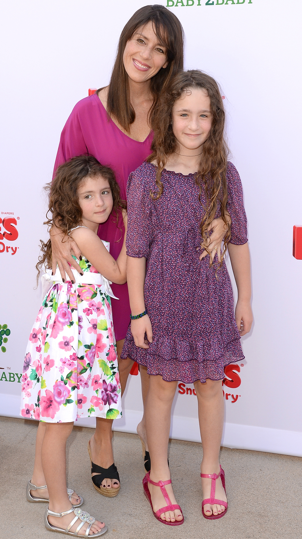 Soleil Moon Frye with her daughters (Getty Images)