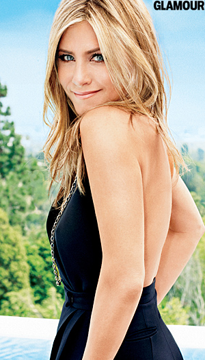 Jennifer Aniston strikes a pose in Glamour magazine (Alexei Hay/Glamour)