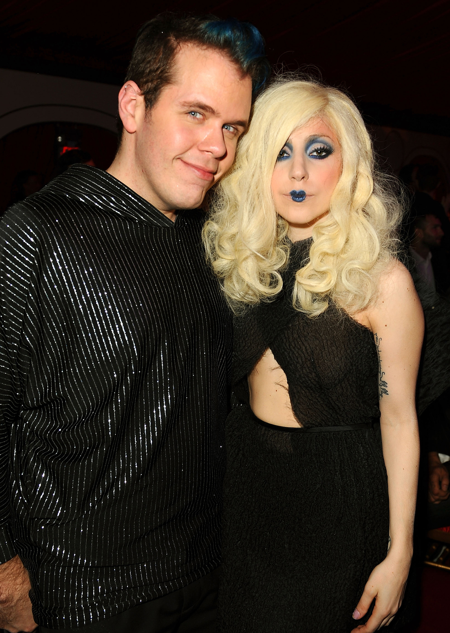 Perez Hilton and Lady Gaga in happier times (Getty Images)