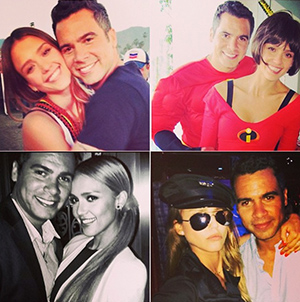 Jessica Alba and Cash Warren (Instagram)