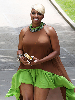 NeNe Leakes was also a guest. (Splash News)