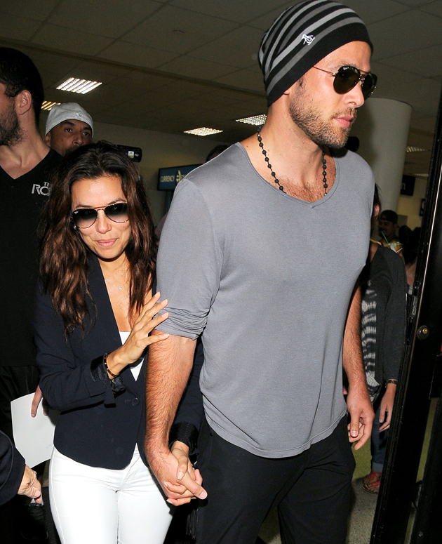 Eva Longoria and Ernesto Arguello (Splash News)