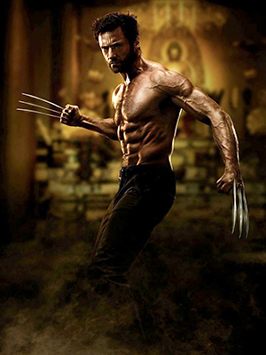 Hugh Jackman has to work really hard for those Wolverine abs (Photo: 20th Century Fox)