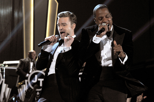 Justin Timberlake and Jay-Z (WireImage)