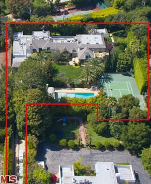 Madonna's Beverly Hills home (Redfin)