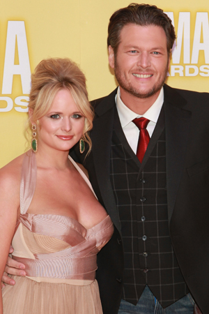 Miranda Lambert and Blake Shelton (Getty Images)