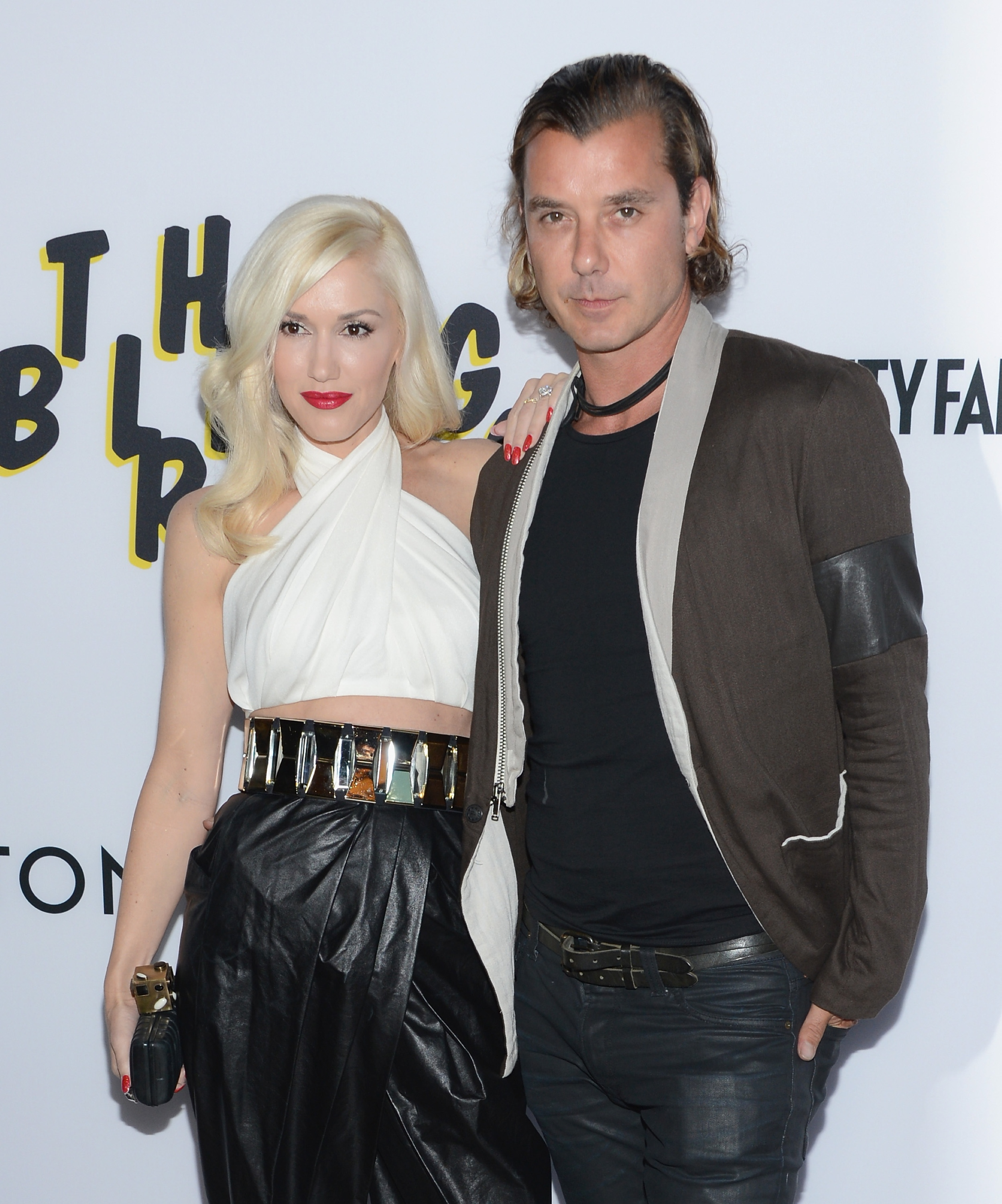 Gwen Stefani and Gavin Rossdale (Getty Images)