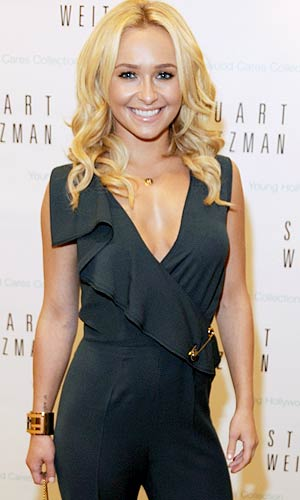 Hayden Panettiere talks to omg! - Alli Harvey/Getty Images North America