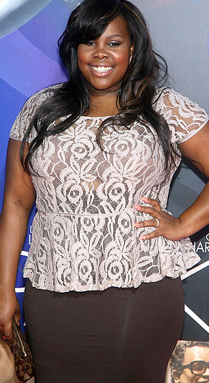 'Glee's' Amber Riley: 'You can't complain about the things that are going on in the world if you haven't taken part'