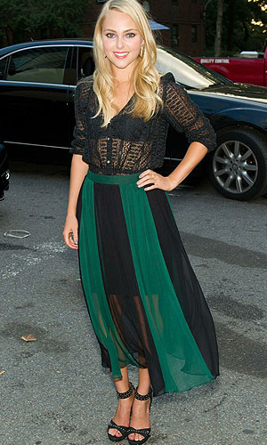 Sheer shirts as worn by AnnaSophia Robb (Getty Images)