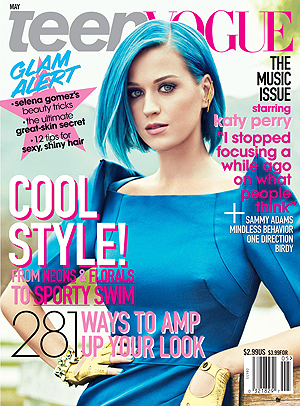 Katy covers Teen Vogue.