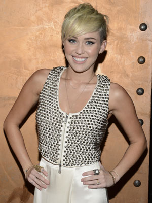 Miley Cyrus. (Michael Kovac/Getty Images)