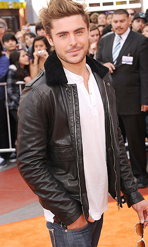 Zac Efron attends the premiere of 