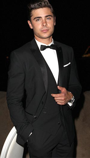 Zac Efron dons Dolce & Gabbana at The Paperboy premiere at Cannes. (Dave M. Benett/Getty Images)