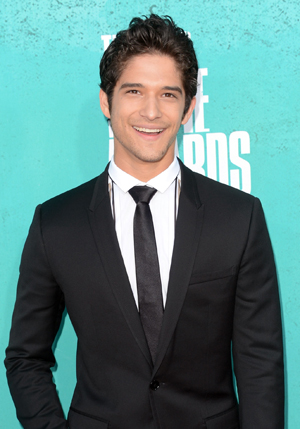 Tyler Posey hits the red carpet. (Jason Merritt/Getty Images)