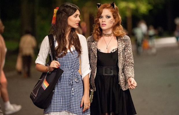 Victoria Justice and Jane Levy star in Fun Size. (Paramount)