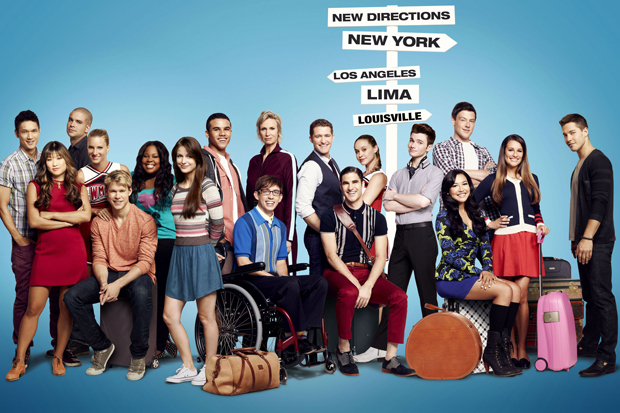 The Glee cast is scattered for Season 4. (Kwaku Alston/Fox)