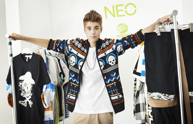 Justin Bieber is the new face of Adidas. (Splash News/Adidas)