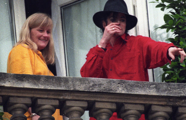 Paris' parents Debbie Rowe and MJ. (Eric Ryan/Wiremage.com)