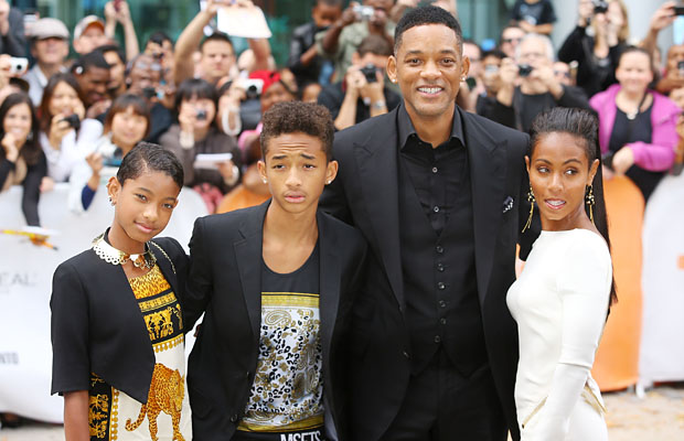 Willow and her famous fam (Alo Ceballos/FilmMagic)