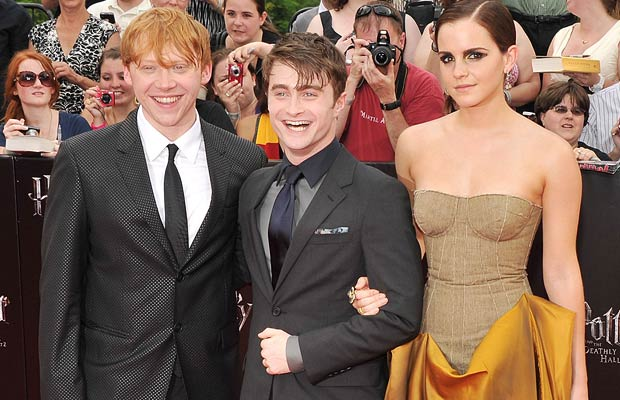 "The stars of ""Harry Potter"" walk the red carpet at the film's NYC premiere. - Stephen Lovekin/Getty Images North America"