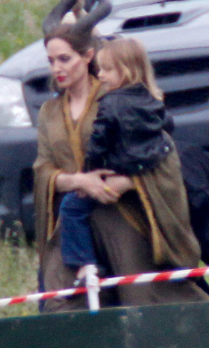 Jolie and Knox. (Splash News)
