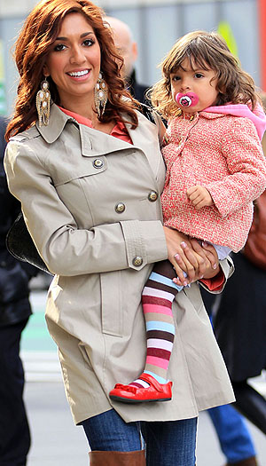 Farrah and Sophia. (Splash News)
