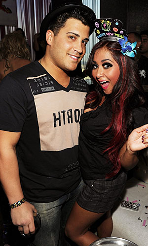 Snooki and Jionni. (Denise Truscello/WireImage)