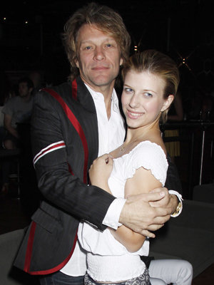 Jon Bon Jovi and daughter Stephanie (Dave M. Bennett/Getty Images)