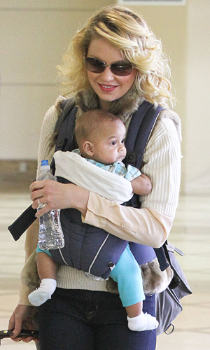 Katherine Heigl and daughter Adalaide (SWAP/Splash News)